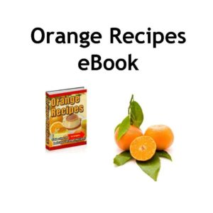 Vintage Orange Recipes Collection