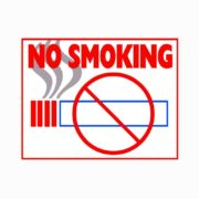 No Smoking Cigarettes Sign