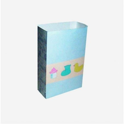 Baby Items Pastel Blue Gift Bag
