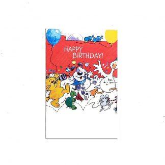 Birthday Animals Gift Bag