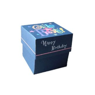 Celebrate Birthday Gift Box in Blue