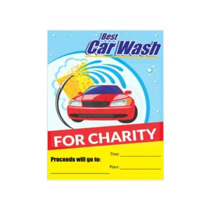 Charity Car Wash Sign