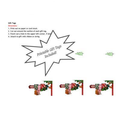 Christmas Elf Gift Tags