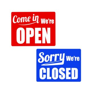 Open Closed Business Signs