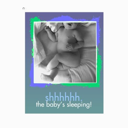 Real Baby Sleeping Sign