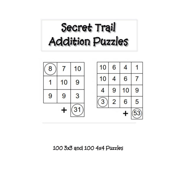 Math Puzzles Easy Secret Trails