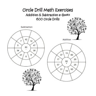 Circle Drill Math Worksheets