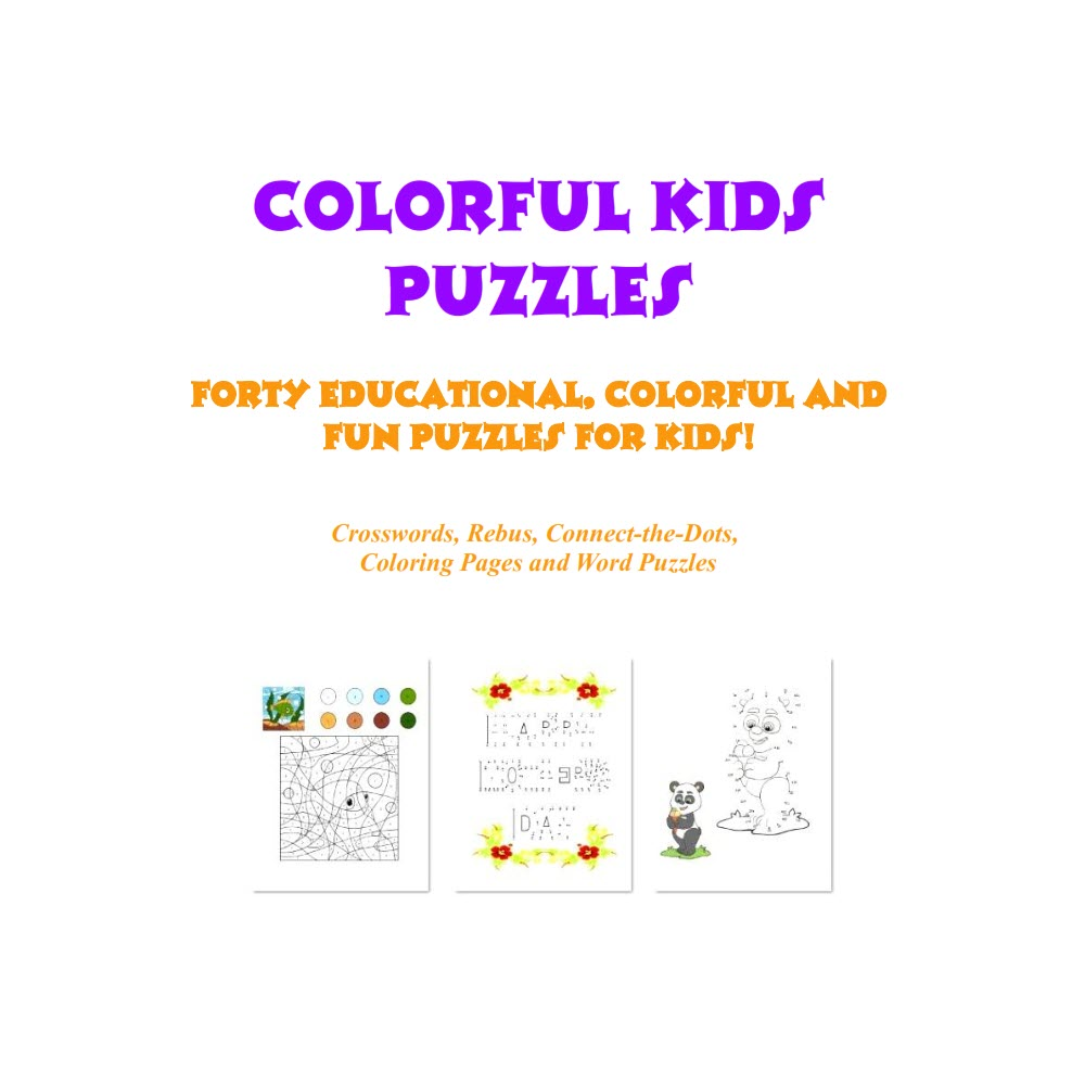 Colorful Kids Puzzles eBook