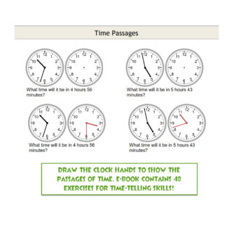 Time Passages Exercises Printable PDF