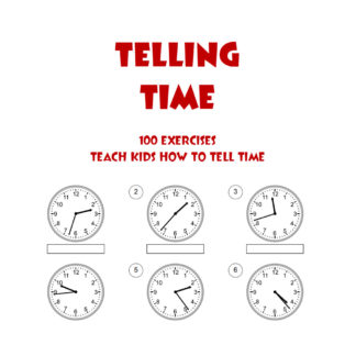 Telling Time Exercises e-Book
