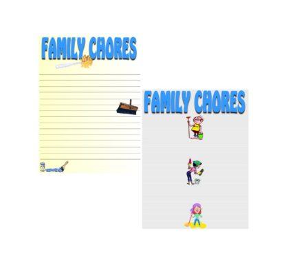 Family Chore Charts