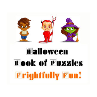Halloween Book of Puzzles