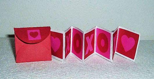 Be My Valentine Mini Love Card Free Gift