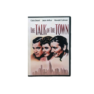 The Talk of the Town DVD Case