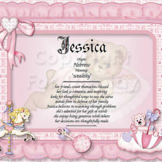 Baby Girl First Name Meaning Art Sample