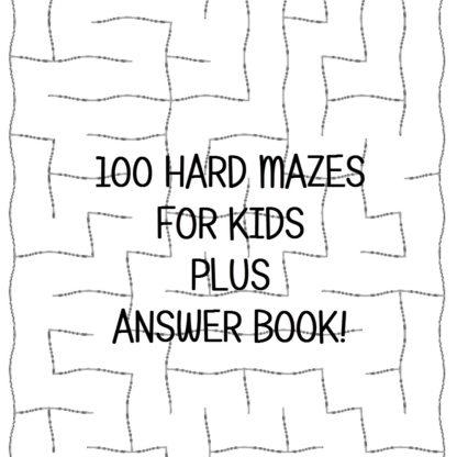 Hard Maze Puzzles