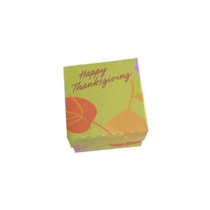 Fall Leaves Thanksgiving Gift Box