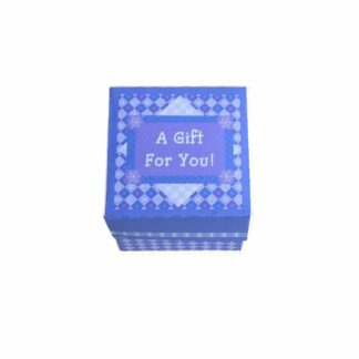 Purple Pattern Gift Box
