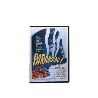 Paranoiac DVD Case