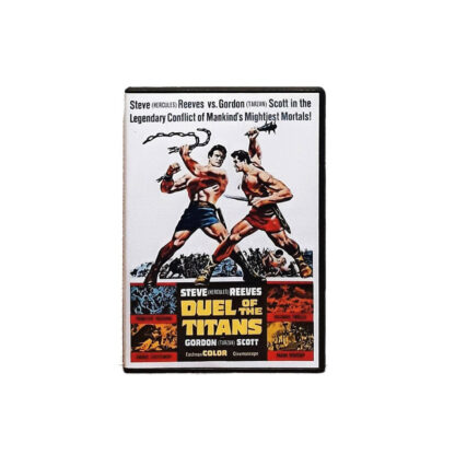 Duel of the Titans DVD Case
