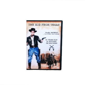 The Kid From Texas DVD Case