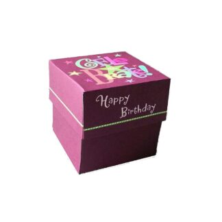 Celebrate Birthday Red Gift Box