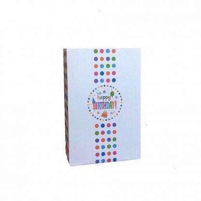 Polka Dot Birthday Gift Bag