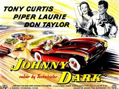 Johnny Dark Movie Poster