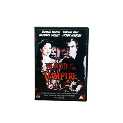 Blood of the Vampire DVD Case