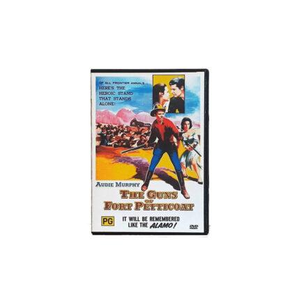 The Guns of Fort Petticoat DVD Case
