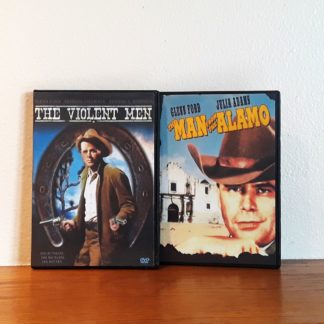 Man From the Alamo Violent Men DVD Set
