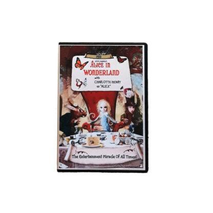 Alice in Wonderland DVD Case