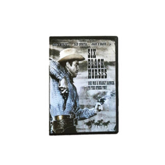 Six Black Horses DVD Case