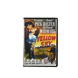 Yellow Sky DVD Case