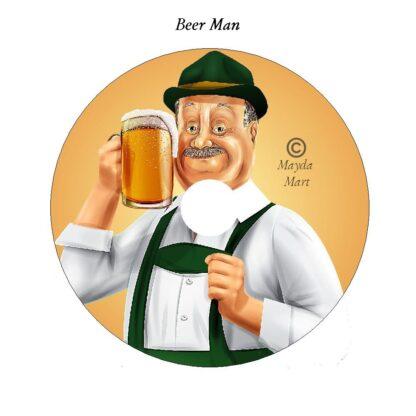 Beer Man Decorative DVD Art