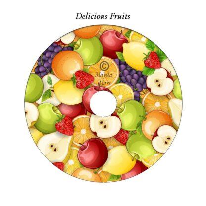 Delicious Fruits DVD Art