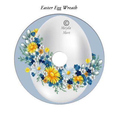 Easter Egg Wreath DVD Art