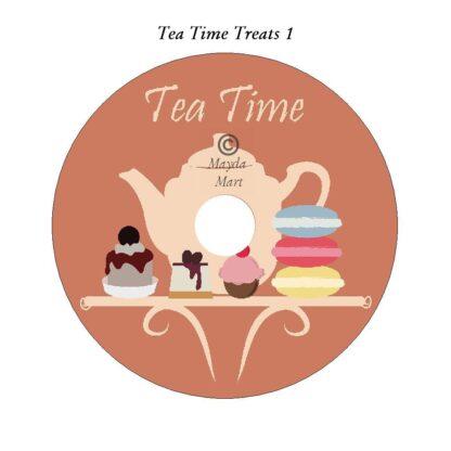 Tea Time Treats DVD Art