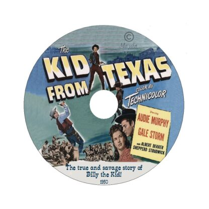 Kid From Texas Label