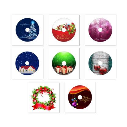 Christmas Illustrations DVD Art