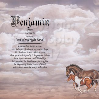 Horse Lover First Name Meaning Art