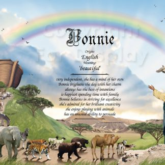 Noah's Ark First Name Meaning Art