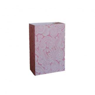 Pink Fleur de Lis Gift Bag